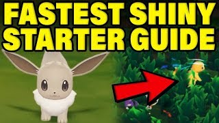 FASTEST SHINY STARTER POKEMON GUIDE! Pokemon Let's Go Shiny Pokemon Guide