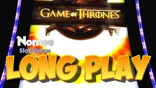 Game of Thrones Slot Machine - New Game!! - Long Play with Bonuses(I decided to give this game a try against my better judgement. I didn't like the game initially because of how busy and confusing the game looks. After playing for ..., 2015-10-31T23:30:47.000Z)