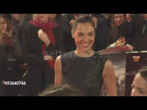 Gal Gadot (Wonder Woman) at Vin Diesel's 'The Last Witch Hunter' Premiere