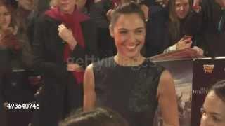 Gal Gadot (Wonder Woman) at Vin Diesel's 'The Last Witch Hunter' Premiere