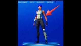 Have a skin and umbrella for free on fortnite