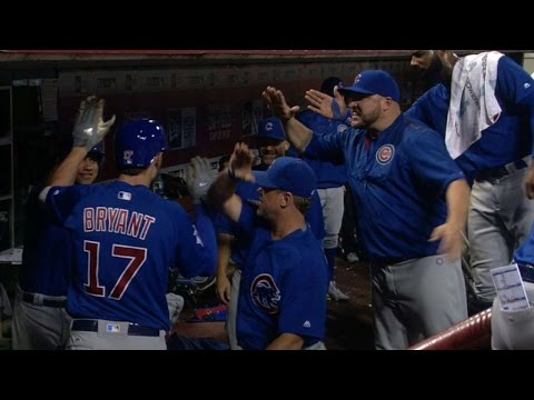 6/27/16: Bryant makes history in 11-8 win over Reds