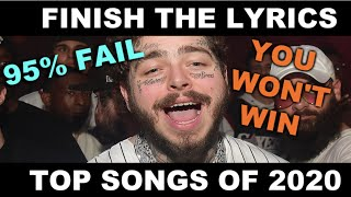 Can you finish the lyrics to top songs of 2020??? includes shawn mendes, lil uzi vert, drake, and more!!! if enjoyed this video, go check out one ...