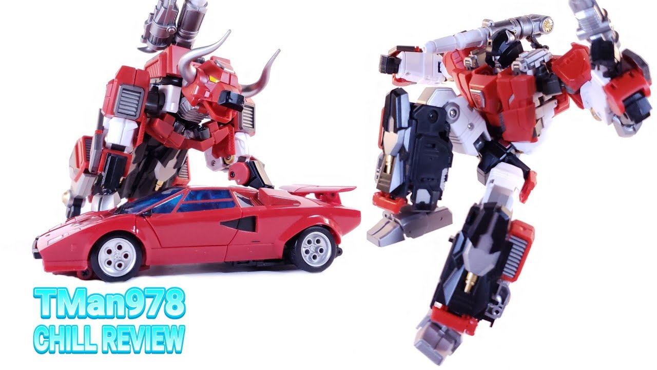 Generation Toy GT-11 Red Bull CHILL REVIEW By TMan978