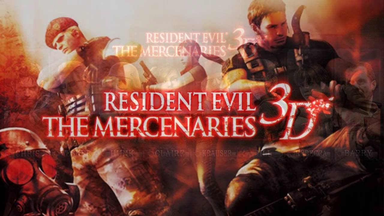 Resident Evil The Mercenaries 3D OST A Warrior Filled With Hope Extended 1 Hour