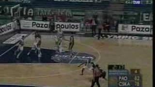 Triple poste Panathinaikos-CSKA