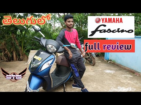 yamaha fascino review  2019 in telugu