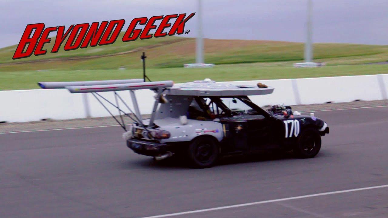 Beyond Geek Junk Car Racing