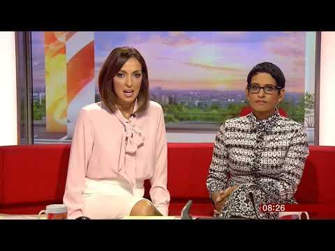 Sally Nugent upskirt | BBC Breakfast | 20160804