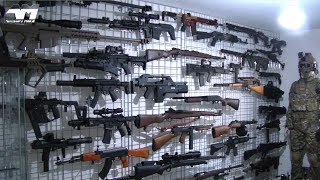 NEW HUGE AIRSOFT COLLECTION / Airsoft Mike Airsoft Armory / Airsoft Armoury