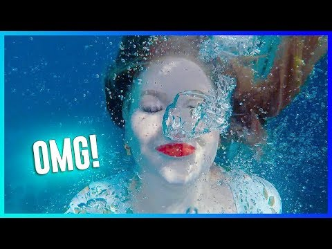 TESTING WATERPROOF MAKEUP UNDERWATER!! | NikkieTutorials