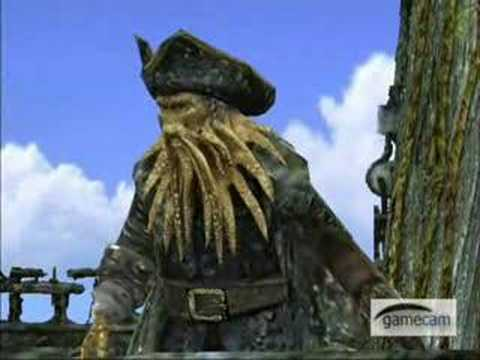 Pirates of the Caribbean 3 At Worlds End pc Game trailer