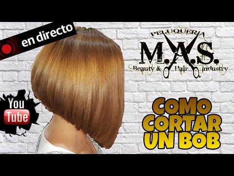 Corte Bob, como cortar el cabello. Video Tututorial paso a paso de Peluquería Profesional. Haircut