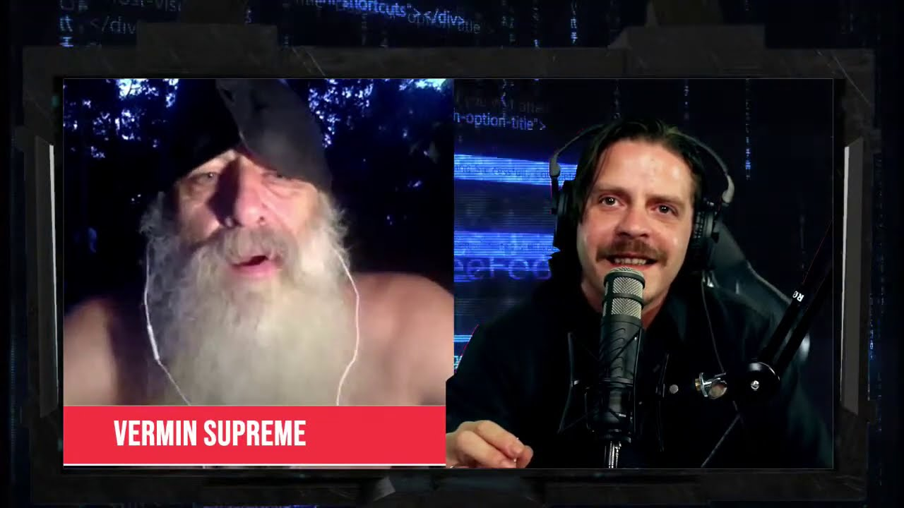 Live Interview With Vermin Supreme