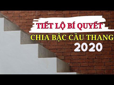 Đây là Cách chia bậc cầu thang đơn giản trong xây dựng 2020