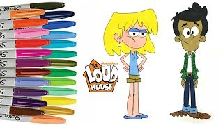 Download Mp3 The Loud House Coloring Book Lori Bobby Santiago Nickelodeon Colouring Sprinkled Donuts