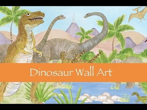 Dinosaur Wall Art