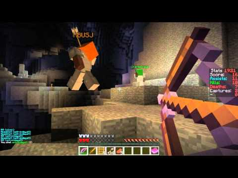 The Battle for Conwy Castle: Episode 1 - The Mines of Moria (Minecraft PvP)