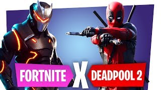 FORTNITE AND DEADPOOL CROSSOVER! - FREE Deadpool Skin! Fortnite Battle Royale