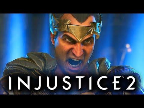 Injustice 2 Gameplay German Multiverse Mode - Black Adam Story