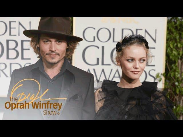 "Johnny Depp\: \""Vanessa and My Kids Gave Me Life\""   The Oprah Winfrey Show   Oprah Winfrey Network"