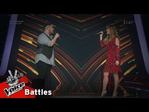 Ανδρέας Ιωάννου vs Χριστιάνα Μπατίστα –  Το Τραγούδι του Χάρη II | 5o Battle | The Voice of Greece