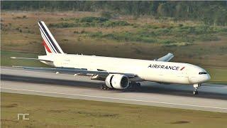Torre de Control Aeropuerto Cancun - Aterrizajes y Despegues Aviones Pesados - Heavies compilation