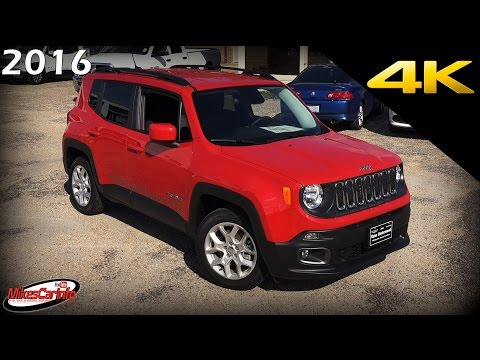 2016 Jeep Renegade Latitude - Ultimate In-Depth Look in 4K