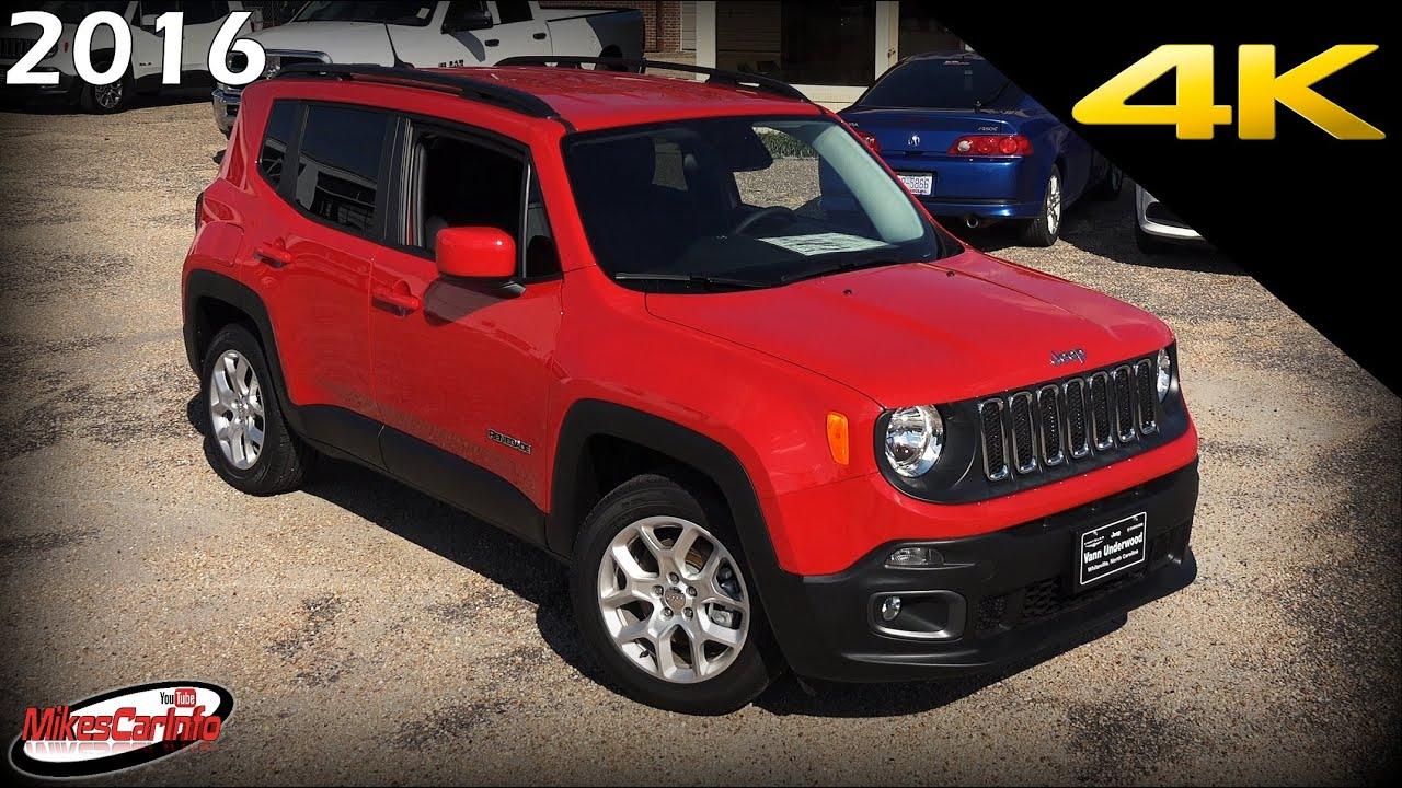 2016 jeep renegade latitude ultimate in depth look in 4k. Black Bedroom Furniture Sets. Home Design Ideas