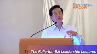 Guppies needed to lead Singapore (The Fullerton-SJI Leadership Lectures Pt 2)