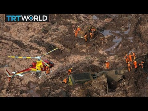Brazil Dam Collapse: 12M Litres Of Mining Waste Slams Into Town