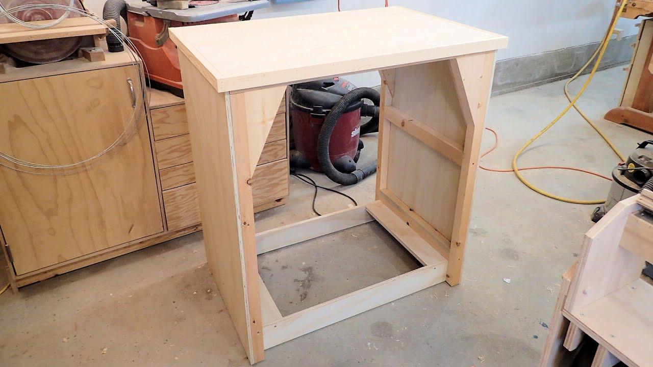 making the belt grinder stand part 2 youtube. Black Bedroom Furniture Sets. Home Design Ideas