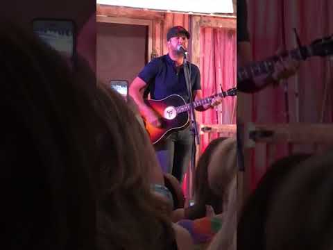 Luke Bryan - Most People are Good - VIP tent - Jacksonville 6/22/18
