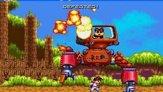 Gunstar Heroes - Sega Mega Drive/Genesis full playthrough