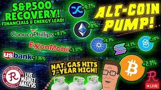 Bitcoin Live : BTC 7 Day Highs! Altcoins Steal the Show Again!