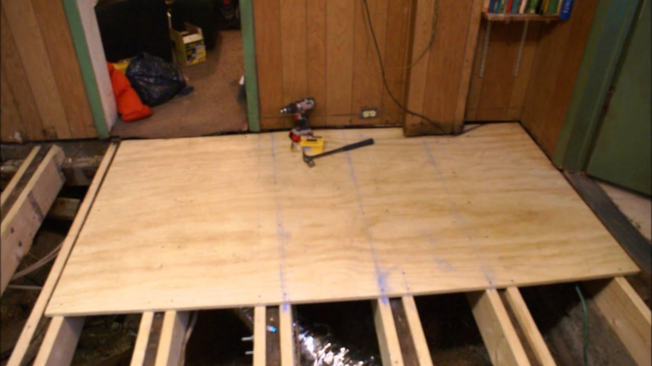 4-13-2015 - replacing the kitchen floor - youtube