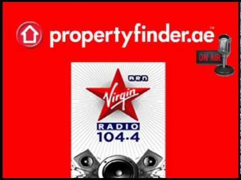 propertyfinder.ae on air @ 104.4 Virgin Radio Dubai
