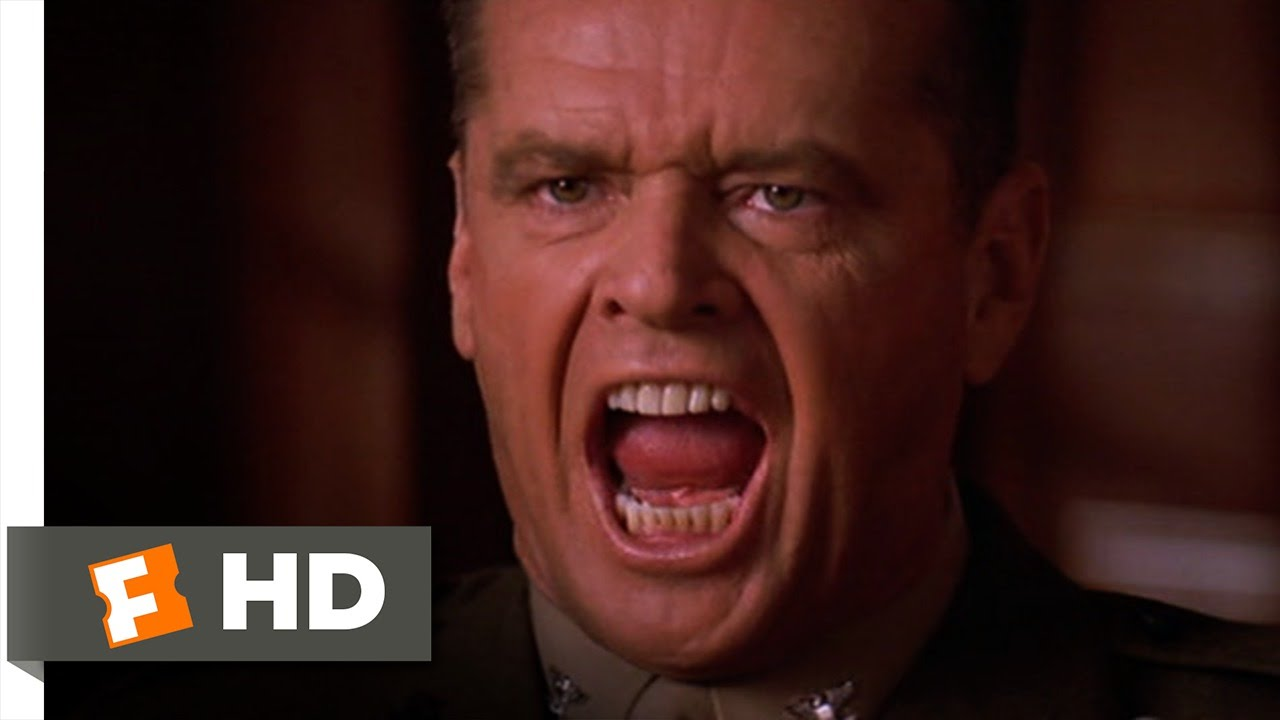 You Cant Handle The Truth A Few Good Men 78 Movie Clip 1992