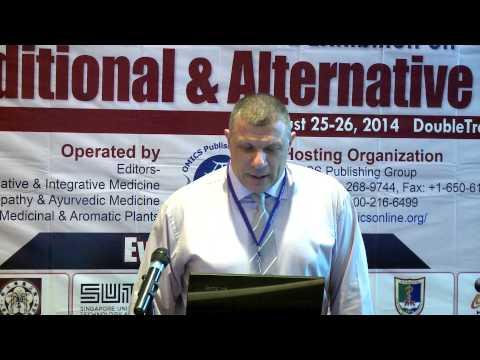 "Adrian Angel Inchauspe | Dr. Alejandro Korn ""Hospital |Argentina | Traditional Medicine-2014 | OMICS"