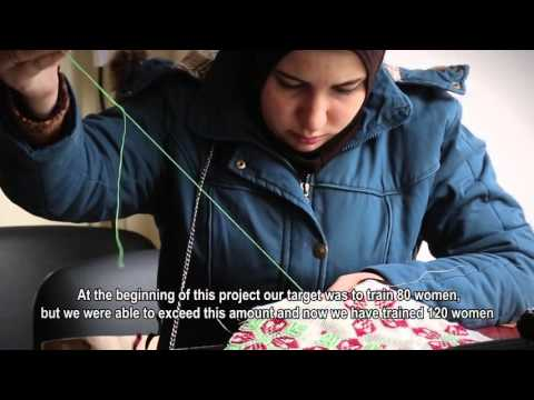 UNFPA supports female Syrian refugees in Lebanon