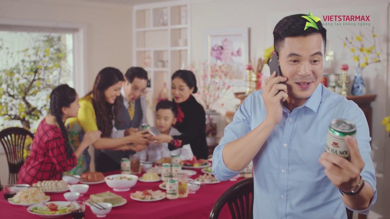 Phim quảng cáo TVC | TVC Bia Hà Nội Xanh Tết 2017