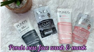 Ponds mineral clay face wash and face mask review best facewash for oily skin