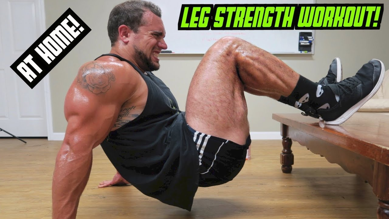 legs workout In case you missed it: strong legs are super-important—beyond just looking awesome in a booty pic they're literally what keep you moving all day, so building strength in your lower half (yes.