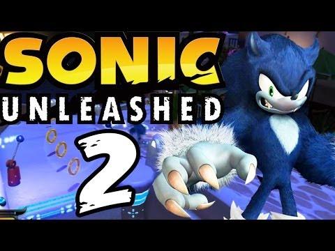 Let's Play Sonic Unleashed - Part 2 - Igel Am Tag Und Werigel In Der Nacht!