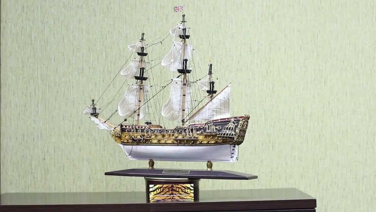 Модель парусника купить в спб, макет парусного корабля.