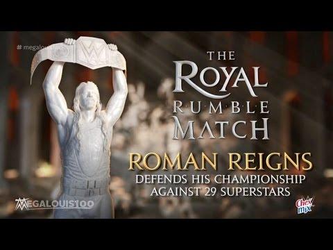 WWE Royal Rumble 2016 Match Card - Royal Rumble Match [HD]