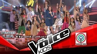 The Voice Kids Philippines Battle Team Lea sing 'Brave'