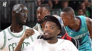 LOOKING KINDA TRASH! Charlotte Hornets vs Boston Celtics - Full Game Highlights