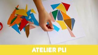 """Atelier """"Pli"""" autour du travail de Florence Reymond"""