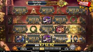 Wild Rails Slot - 19 Free Spins MEGA HUGE WINS!